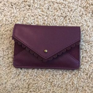 Urban outfitters purple wallet